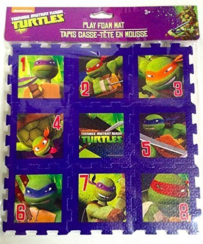 Amazon.com: Teenage Mutant Ninja Turtle Puzzle Toy Mat Play ...