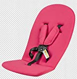 Hot Mom Stroller seat and Bassinet Cushion 4 Color (Pink)