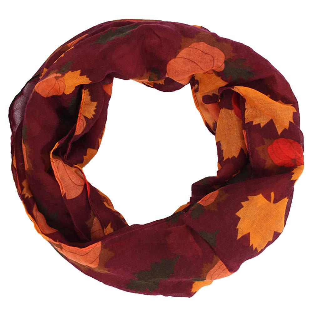 Esharing Super Soft Comfy Scarfs for Women & Girls, Lightweight Colorful Print Multi-use Fashion Shawl Cape (Purple)