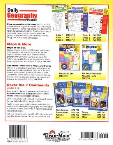 Amazon.com: Daily Geography Practice, Grade 4 (9781557999733 ...
