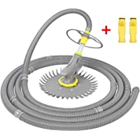 VINGLI Automatic Pool Vacuum Cleaner Swimming Pool Vacuum with Additional Hoses & Diaphragms, Grey