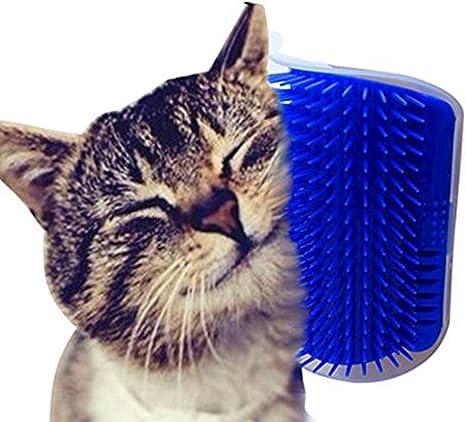Ducomi Grattino Cepillo Autopulente para Gato con Soporte para ...