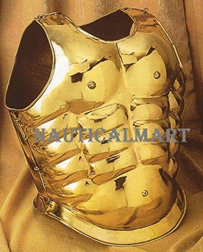 Medieval ArmorマッスルBreastplate – 真鍮NAUTICALMART