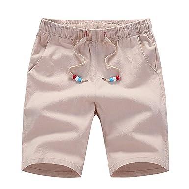 Pantalones Cortos De Verano con Cintura Hombres para Banda Mode De ...