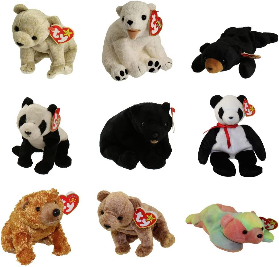 Ty Beanie Babies complete set of series 4 orange WILD CARDS 15 cards