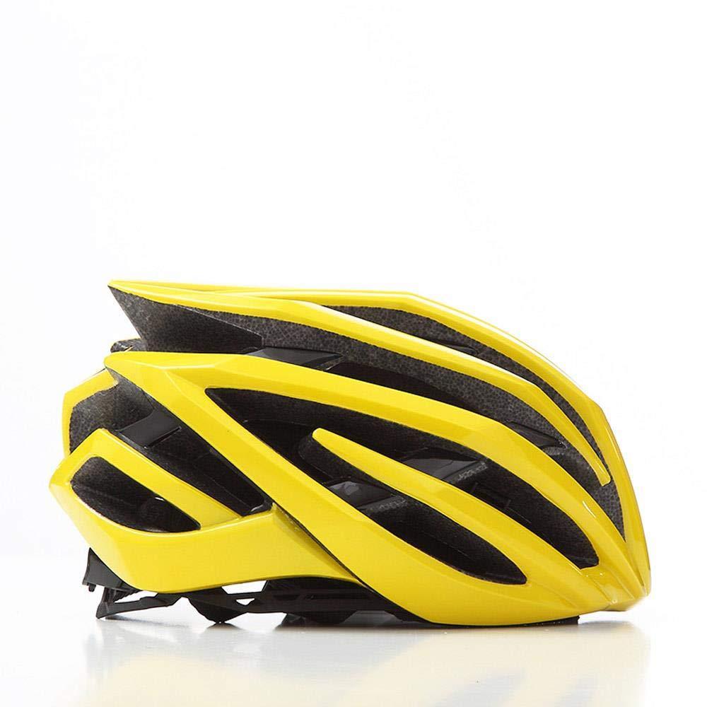 LIUDATOU Casco de Bicicleta de monta/ña para Hombre//Mujer Carretera Ciclismo Casco de Bicicleta MTB Casco de Bicicleta equitaci/ón Senderismo Camping esqu/í Coches Paralelos