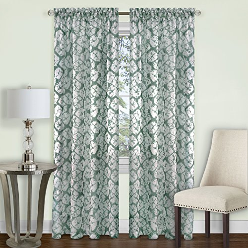 Batik Panel - Achim Home Furnishings Batik Window Curtain Panel, 52
