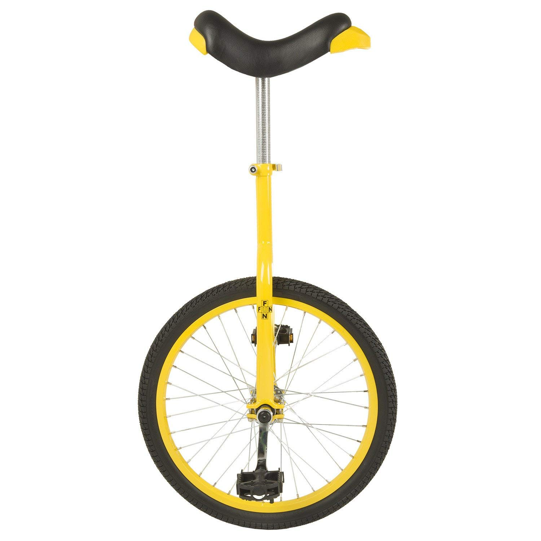 Fun 20 Inch Wheel Unicycle with Alloy Rim, Yellow (Renewed)