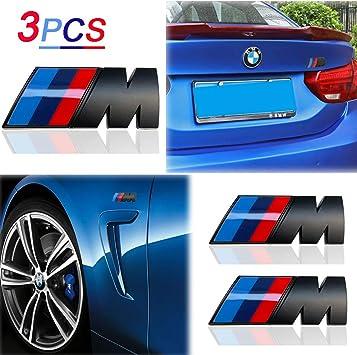 Amazon Com Kenpenri M Badge Rear Emblems Fender Side Emblems M Sport Badge 3d Nameplate Car Decal Logo Sticker Compatible For M M3 M5 X1 X3 X5 X6 E30 E34 E36 E39