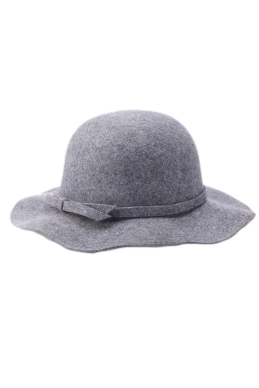 Hulday Gorros Mujeres Bowknot Bucket Vestido Bowler Hat Gap ...