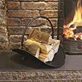 Tuin Mile® Vintage Stijl Fireside Companion Tool Set Open haard Kolen Vuur Hout Brander Accessoires, Kolen Emmer Hout…