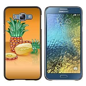 For Samsung Galaxy E7 E700 Case , Naturaleza Hermosa Forrest Verde 35- Diseño Patrón Teléfono Caso Cubierta Case Bumper Duro Protección Case Cover Funda