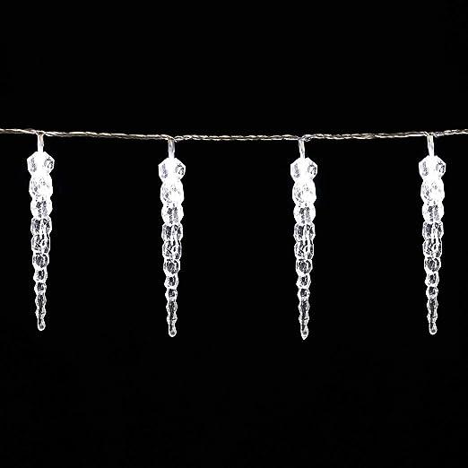 Guirlande lumineuse noel exterieur stalactite