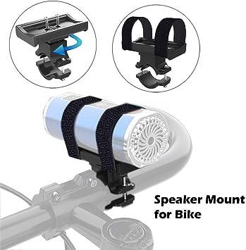 Soporte de altavoz Bluetooth para bicicleta, carrito de golf o ATV ...