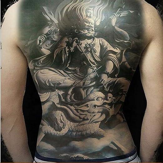 2pcs Gran tamaño en el Pecho Tatuaje Completo de Nuevo Tatuaje ...
