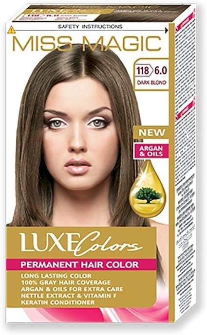 Tinta para pelo Miss Magic Tinte Rubio Oscuro Hair Colour con ...