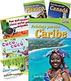 Países y regiones (Countries and Regions) 6-Book Set (Language Arts) (Spanish Edition)