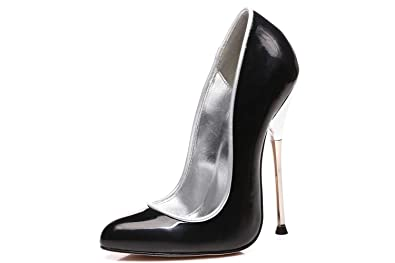 9e98a15bd7b Giaro Baby High Heels in Übergrößen Schwarz Große Damenschuhe