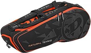 Dunlop NT 8Racchette Tennis tasche nero arancione