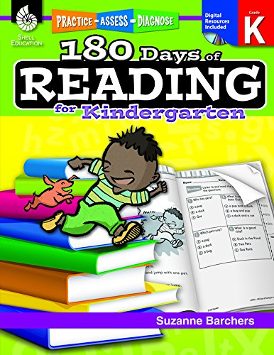 Amazon.com: 180 Days of Reading for Kindergarten (180 Days of ...