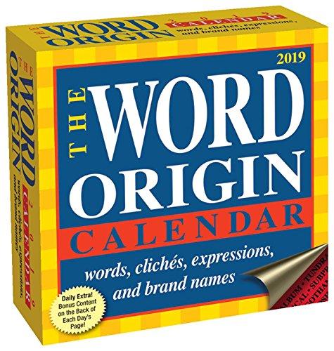 (Word Origin 2019 Day-to-Day Calendar)