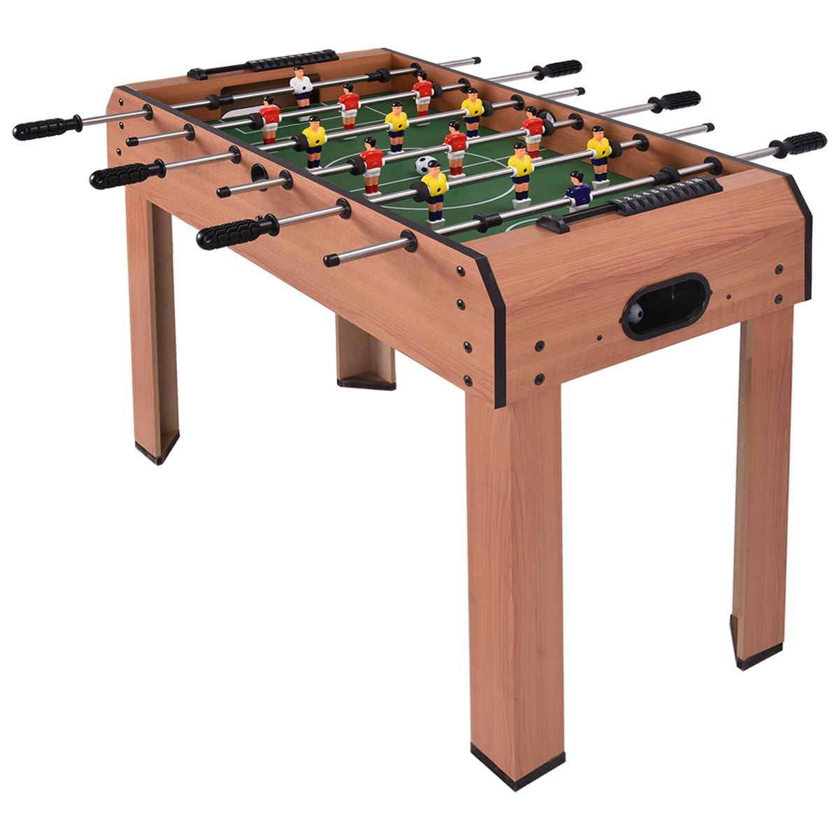 FootballテーブルテーブルサッカーゲームサッカーArcadeスポーツIndooor W / 6行 B07CGBMJZR