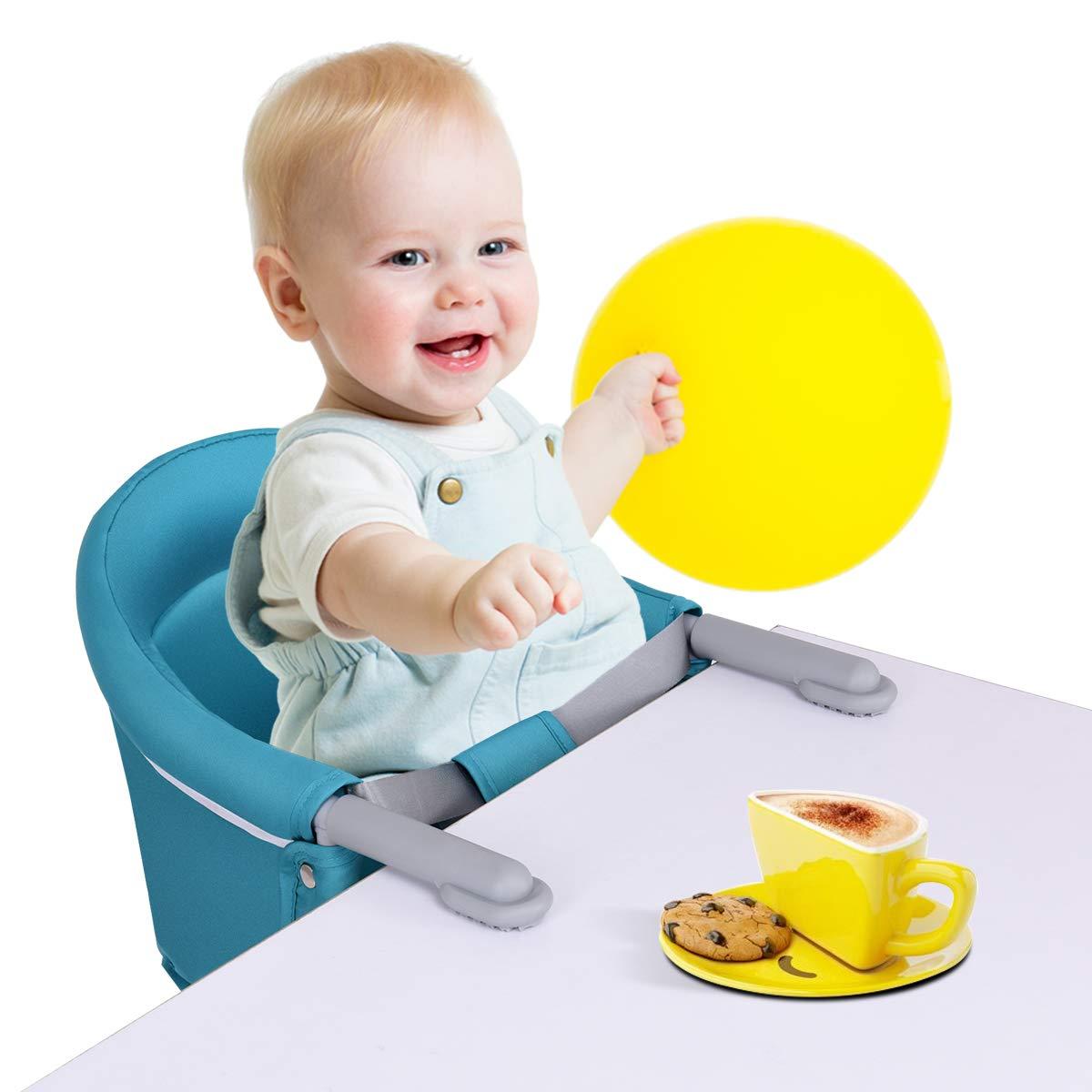 Amazon.com: Costzon - Silla de mesa portátil y plegable para ...