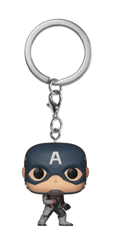 Amazon.com: Funko Pop! Llaveros: Avengers Endgame - Capitán ...