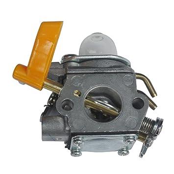 Generic carburador Carb Recambio para Ryobi rbc30set rlt30cet RHT2660DA rlt26cds rbc26ses Homelite cortacésped reemplazar Zama C1U