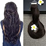 Full Shine 22inch color #2 Dark Brown 50g Per Package 100% Real Human Remy Hair Tape Extensions Solid Color Tape in Extensions Double Side Tape