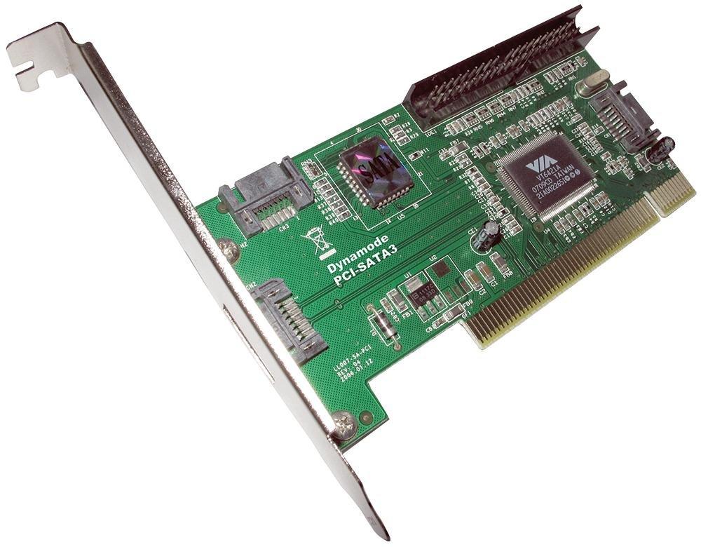 Dynamode PCI-SATA3 - Tarjeta y adaptador de interfaz (PCI, SATA III)
