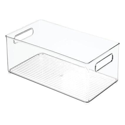 Lovely InterDesign Refrigerator Or Freezer Storage Bin U2013 Food Organizer Container  For Kitchen   Deep Drawer,