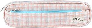 iSuperb Pencil Case Simplicity Pen Bag Nylon Stylish Rectangle Stationery Box Office or Cosmetic Supply Organizer Bag