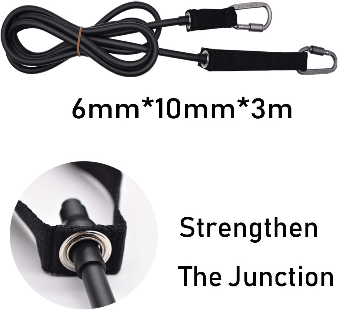 MEYFANCY Swim Tether Swim Belt Swimming Training Leash Swim Training Tether Stationary Swimming Resistance Rope for Adults Kids : Sports & Outdoors