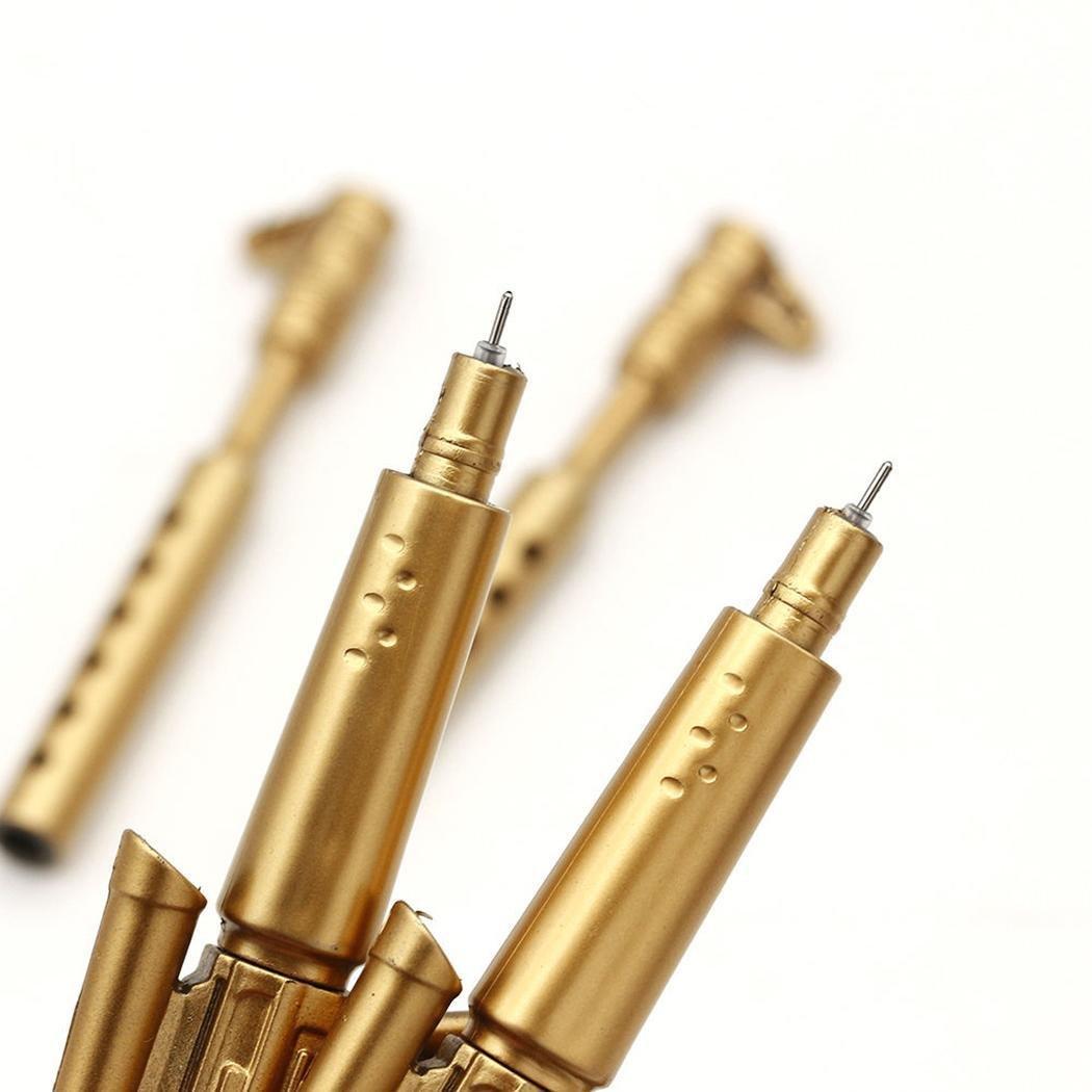 Legros8 New Rifle Shape Black Ink Ballpoint Office Ball Point Novelty Pen Stationery Ballpoint Pens
