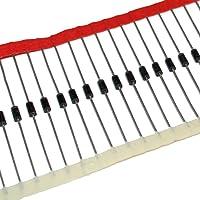 Diodo rectificador 1N4007-1A/1000V DO41 (100 unidades)