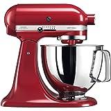 KitchenAid Artisan Tilt-Head Stand Mixer KSM125, 4.8 L Empire Red