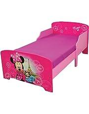 Fun House 712861Disney Minnie Paris Cama Infantil 140x 70cm con Listones, MDF, 144x 77x 59cm