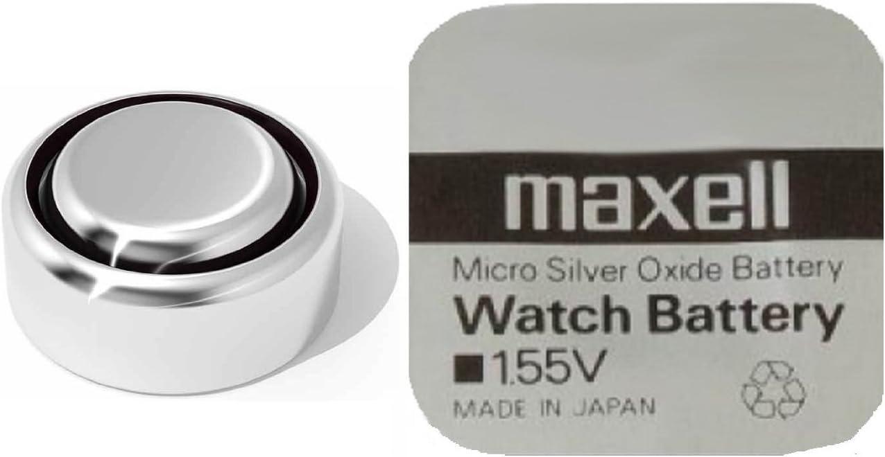 Pila De Botón Batería Óxido De Plata Maxell 377 Elektronik