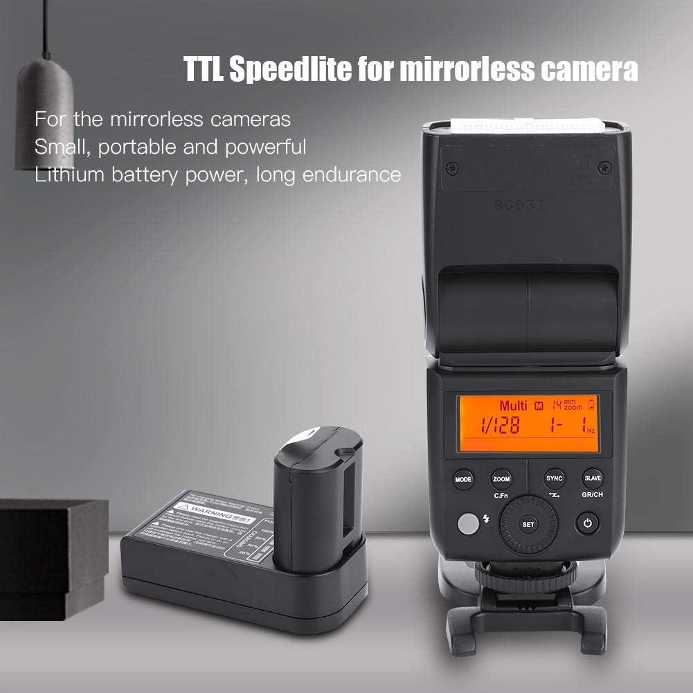 Mugast Flash Speedlite,2.4GHz Wireless Receiver,Manual,Frequent Flash Mode,Auto Zoom,Professional Flash Light N for Nikon