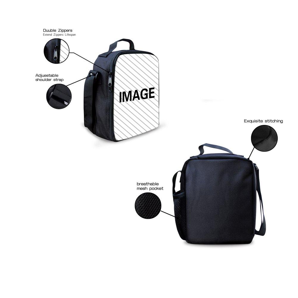 HUGS IDEA Kitten Cat Printing School Backpack Kids Schoolbag with Lunch Bag by HUGS IDEA (Image #5)