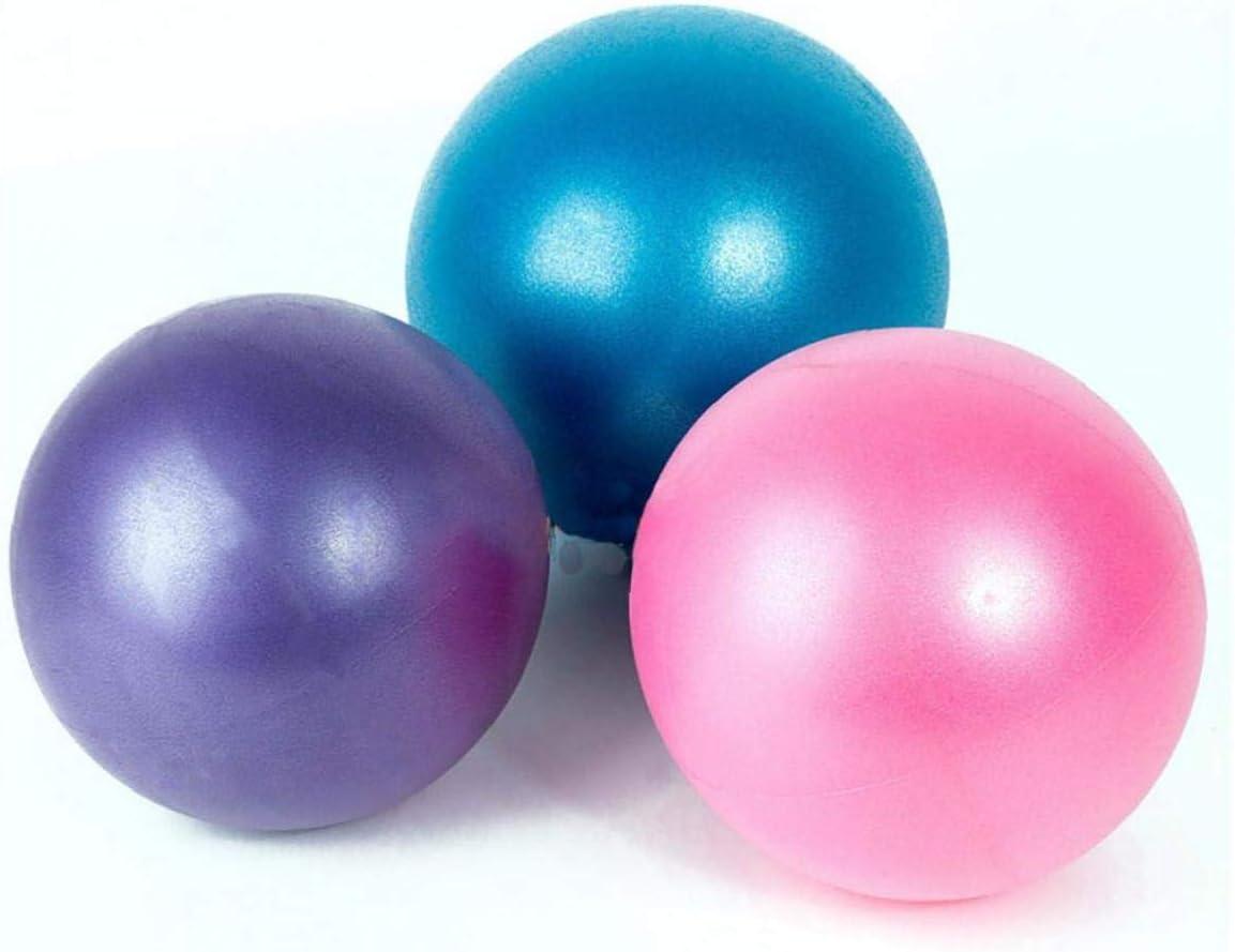 Mini-Boule De Yoga Ballon dexercice De Qualit/é Professionnelle Anti Burst Heavy Duty Et Anti-D/érapante Petit Pilates Balle pour Yoga Fitness Barre De Stabilit/é /équilibre Formation Kin/ésith/érapie
