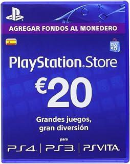Sony - Tarjeta Prepago 20€ (Código Digital): playstation ...