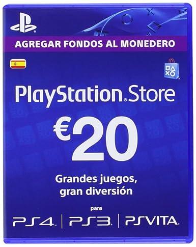 Sony - Tarjeta De Carga PSN De 20 - Reedición (PS3): Amazon ...