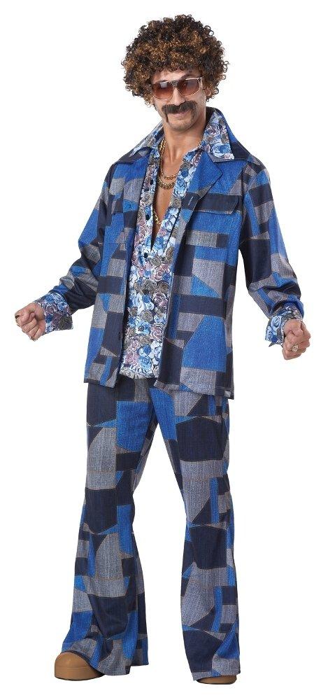 JADEO Disco-Fieber Kostüm für Herren S