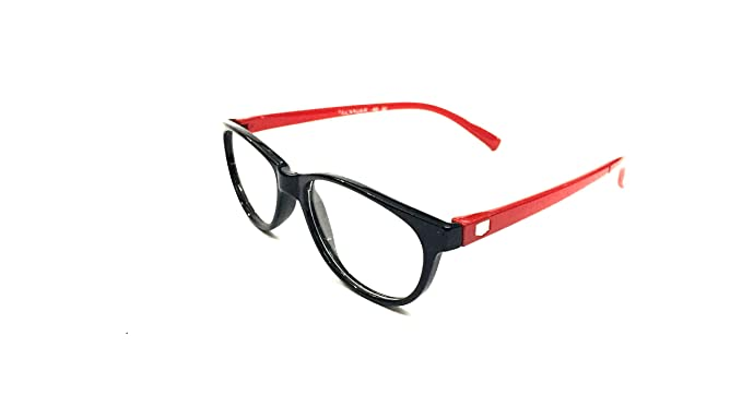 FashioNext Cat Eyed (Black-Red) Girls Spectacles Frames (FNS0183 ...
