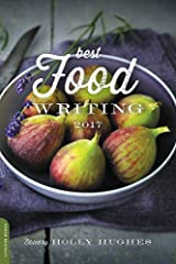 Best Food Writing 2017 Paperback