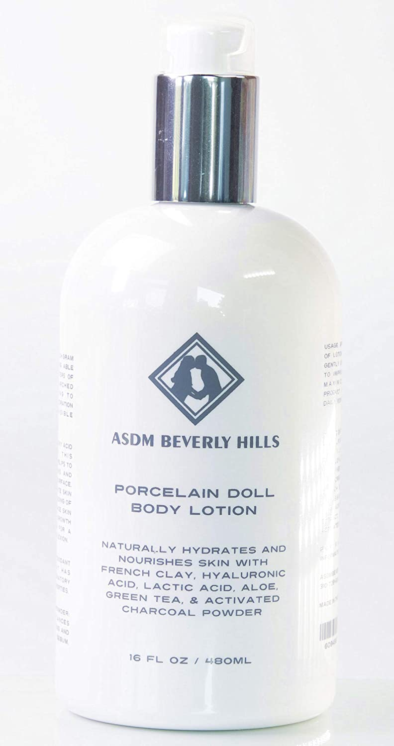 ASDM Beverly Hills Porcelain Doll Lotion 16oz
