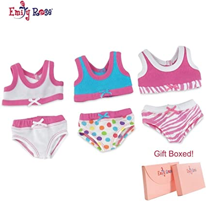 Heart /& Bows 1 Piece  Bathing Suit 18 in Doll Clothes Fits American Girl