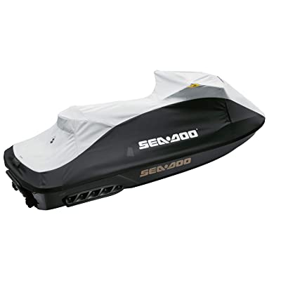 Sea-Doo New OEM GTX PWC Trailering Cover, Black/Light Grey, 295100718: Automotive